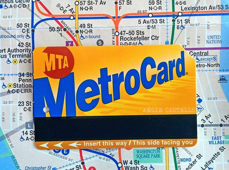 La tarjeta MetroCard de Nueva York - Mapa del metro