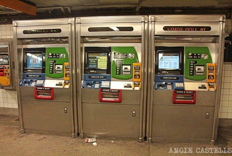 La tarjeta MetroCard de Nueva York - Dónde comprarla
