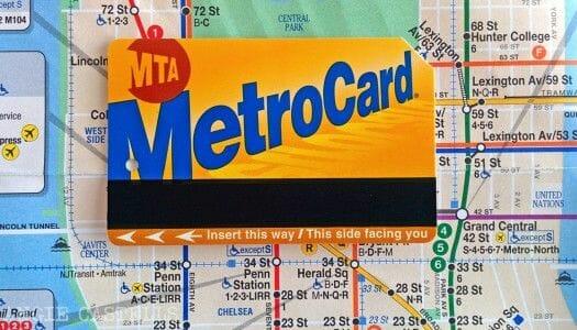 Metrocard, el abono de transporte de Nueva York