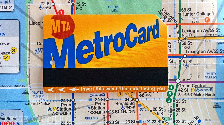 Como usar la MetroCard de Nueva York