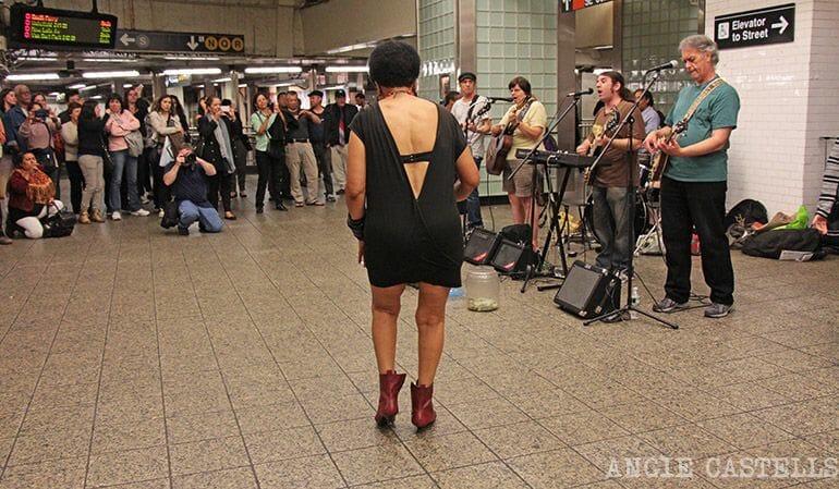 El metro de Nueva York - Artistas