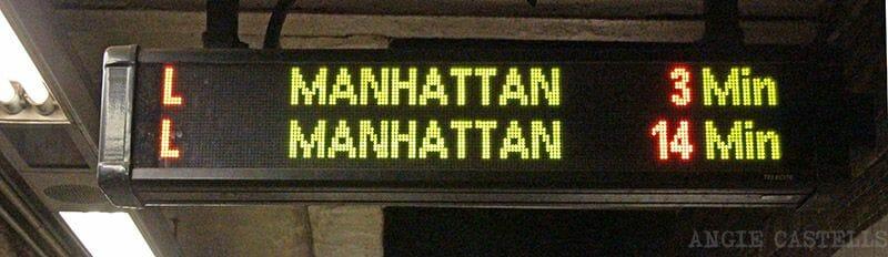 El metro de Nueva York - Horarios