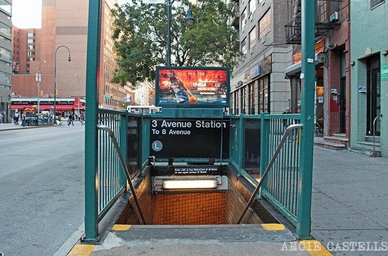 Cómo usar el metro de Nueva York: la dirección