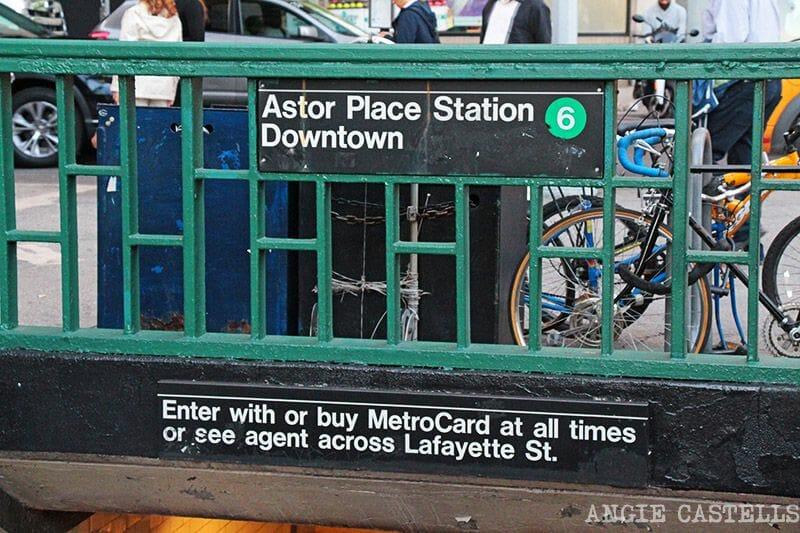El metro de Nueva York - Downtown