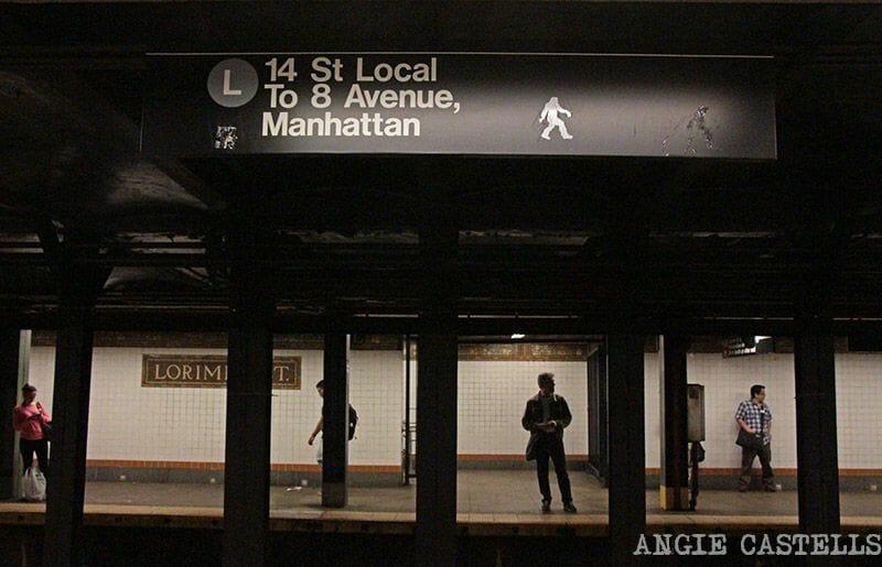 El metro de Nueva York Locales y express