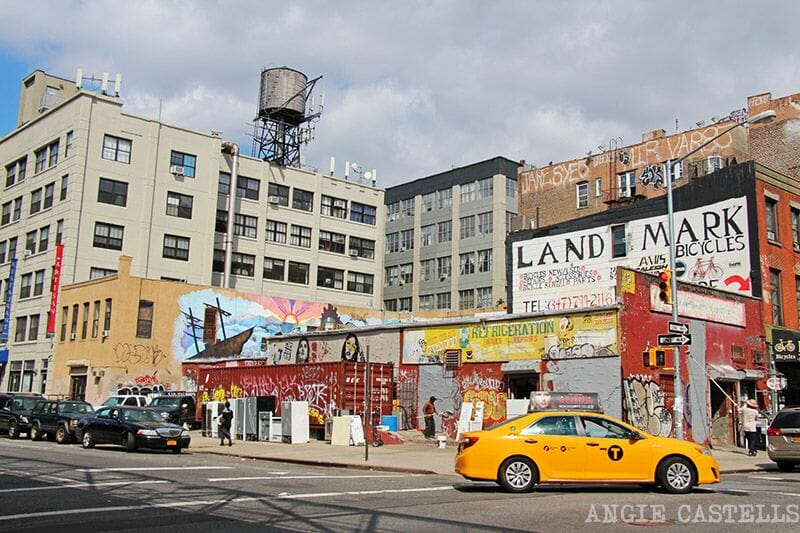 Tomar un taxi en Nueva York