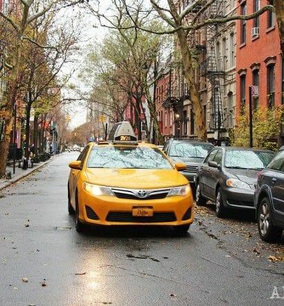 Tomar un taxi en NY