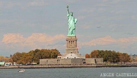 El ferry de Staten Island y la Estatua de la Libertad