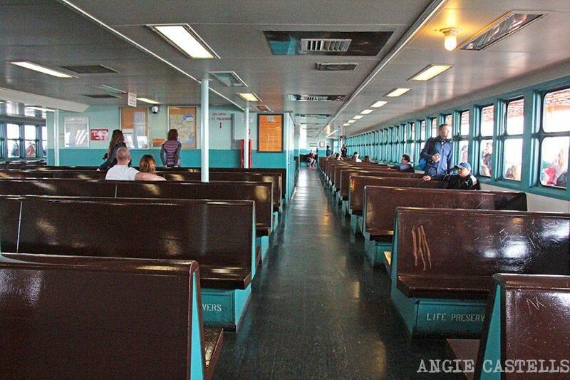 Ferry a Staten Island - Interior