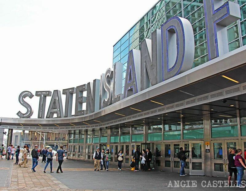 Ferry a Staten Island - Terminal