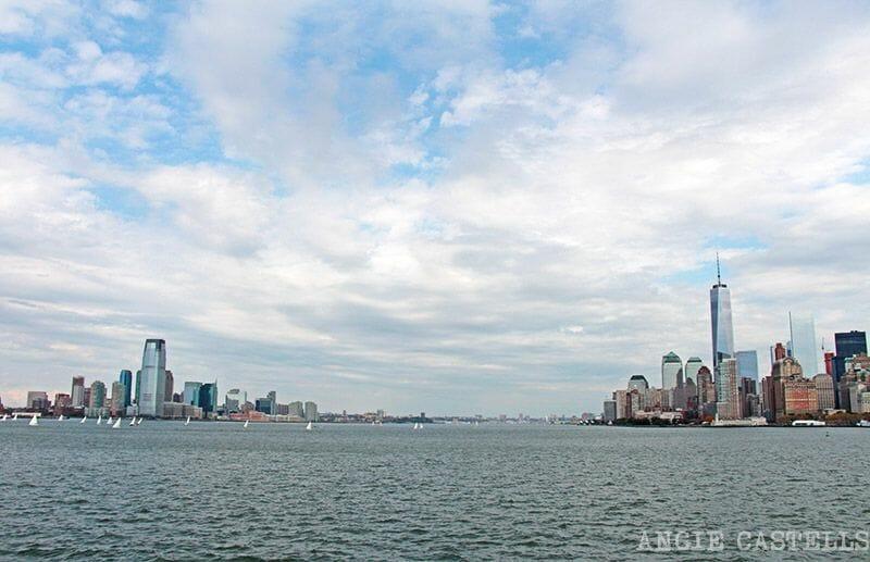 Manhattan desde el ferry a Staten Island