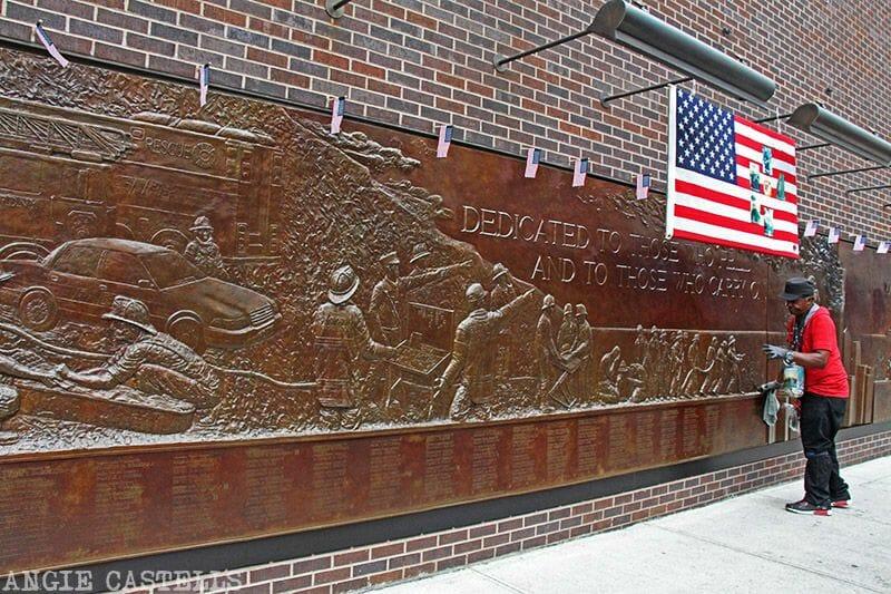 Guía del World Trade Center: el monumento a los bomberos