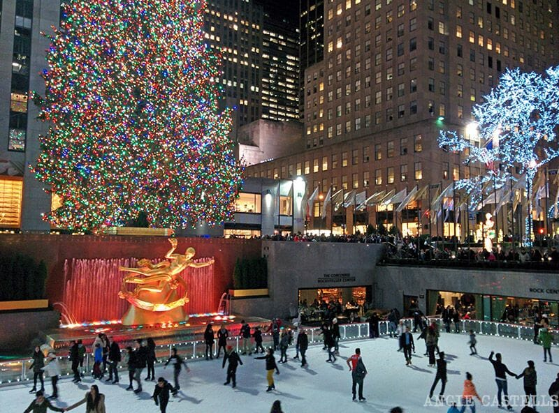 Rockefeller Center en Navidades