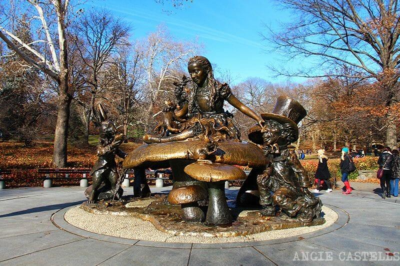 Central Park Alicia en el Pais de las Maravillas