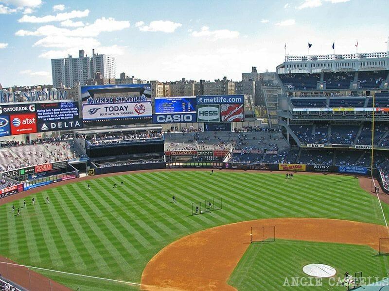 Los distritos de Nueva York - El Yankee Stadium, en el Bronx
