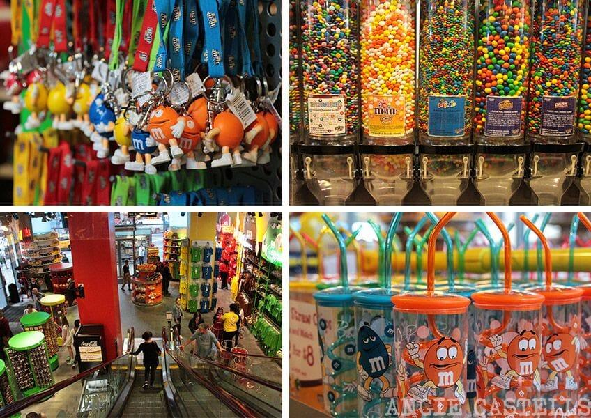 Guía de Times Square: la tienda M&M's World