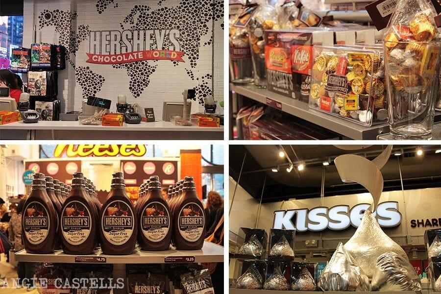 Guía de Times Square: la tienda de Hershey's