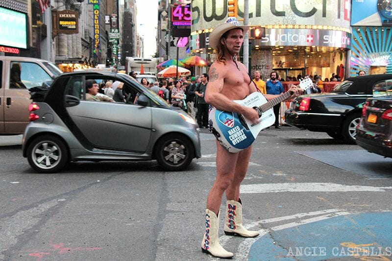 Times Square Naked Cowboy