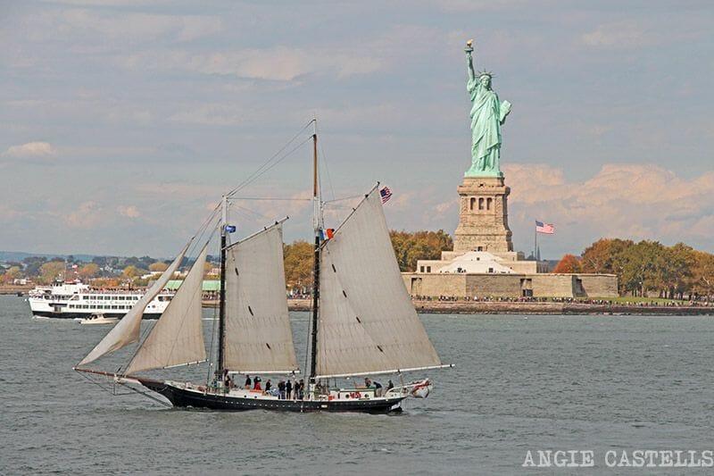 Estatua de la libertad ferry