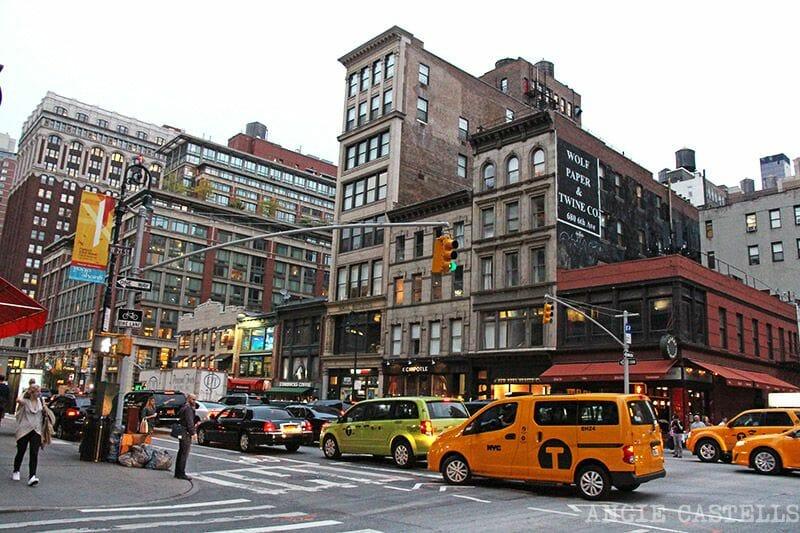 Cómo orientarte en Nueva York: las calles y avenidas