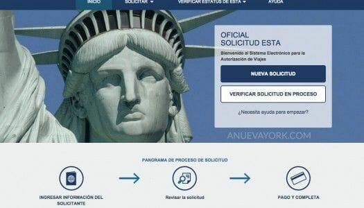 Cómo rellenar el ESTA para viajar a Nueva York