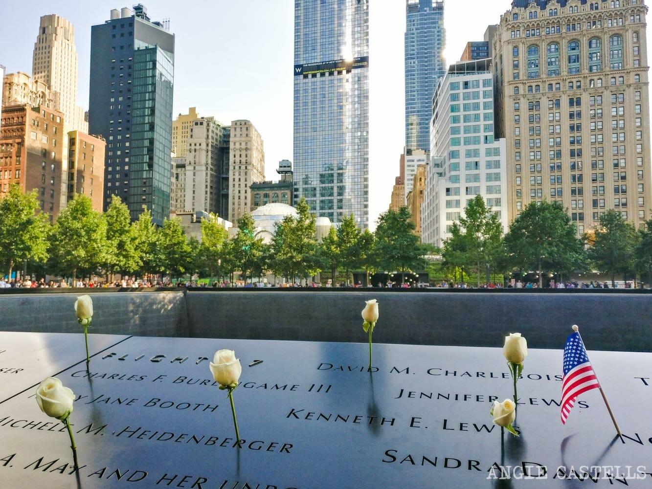 Guía del World Trade Center: los estanques en homenaje a las víctimas