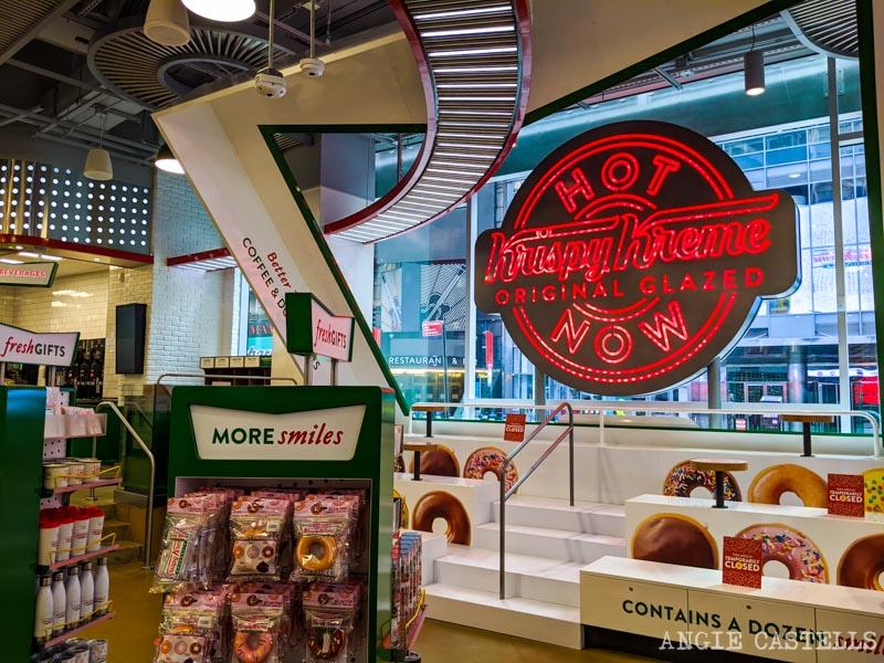 La tienda de Krispy Kreme en Times Square