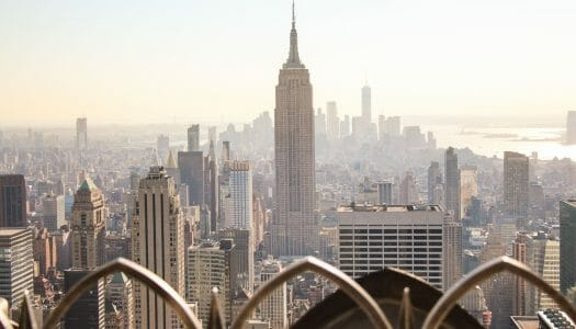 Subir al Top of the Rock, en el Rockefeller Center