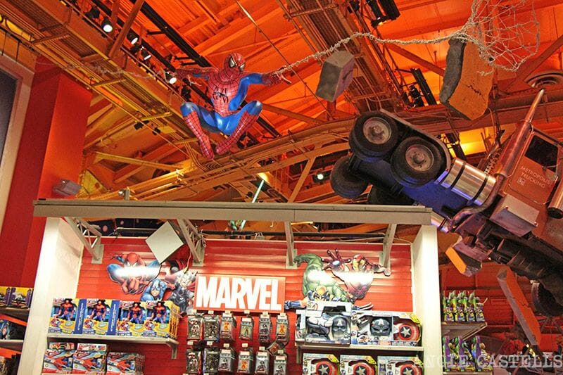 Toys r us Times Square Spiderman