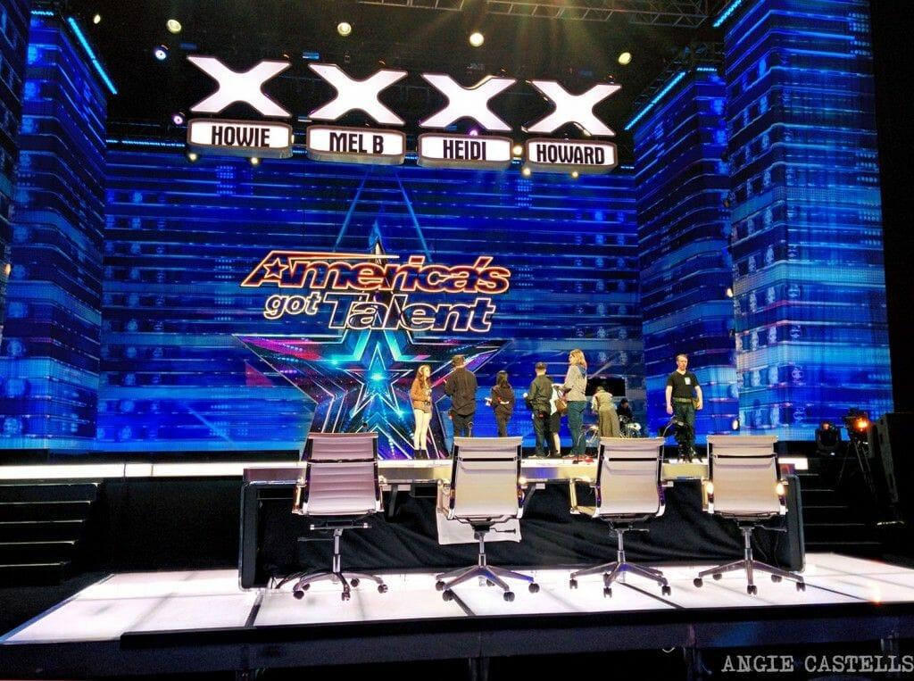 Publico en Americas Got Talent Nueva York