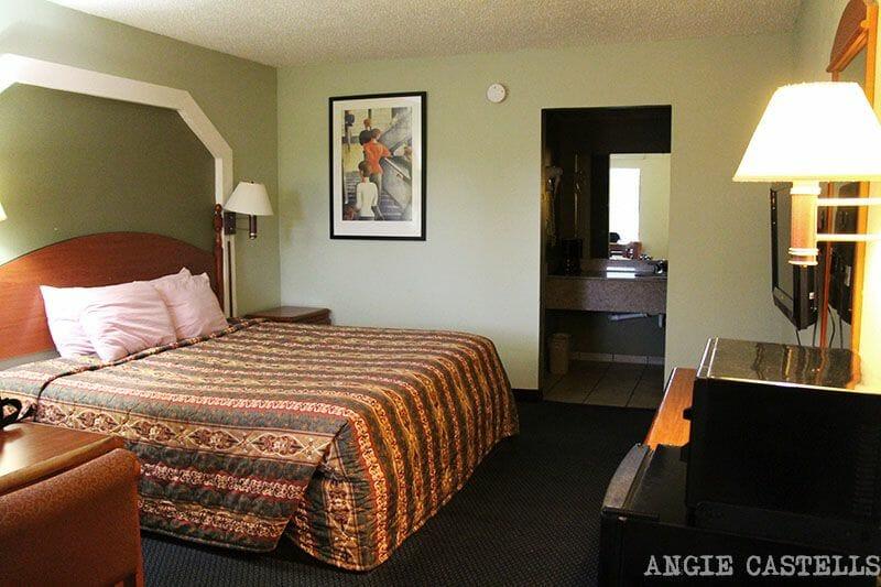 Habitación de motel Estados Unidos