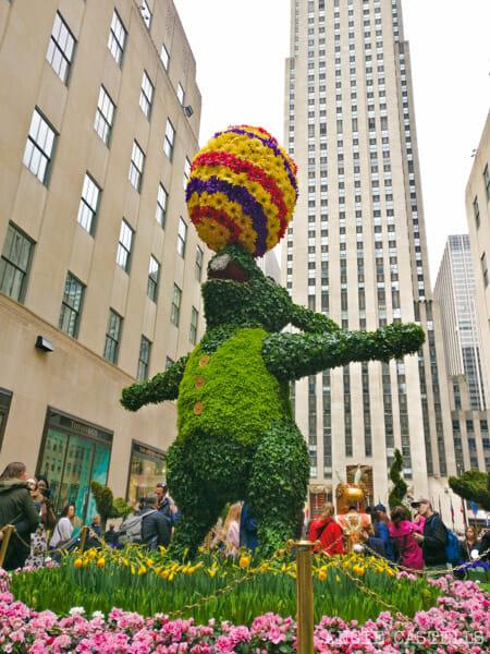 Pascua en Nueva York - Decoraciones de primavera en el Rockefeller Center