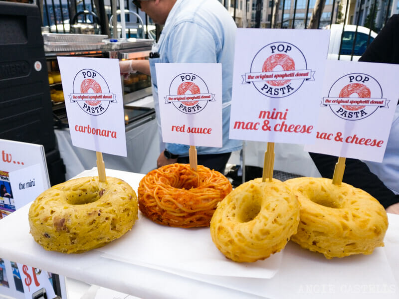 El mercado Smorgasburg de Williamsburg - Donuts de Pop Pasta