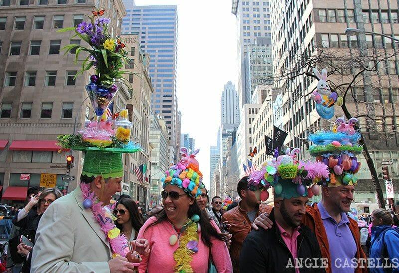 Qué hacer en abril en Nueva York - El desfile de sombreros de Pascua