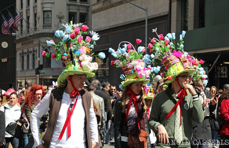 Pascua en NY sombreros