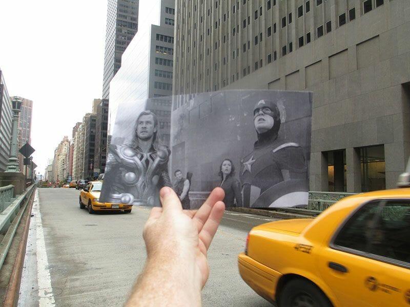Nueva York de cine Los Vengadores