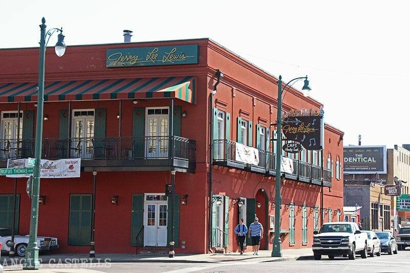 Guía de Memphis Jerry Lee Lewis Cafe Beale St