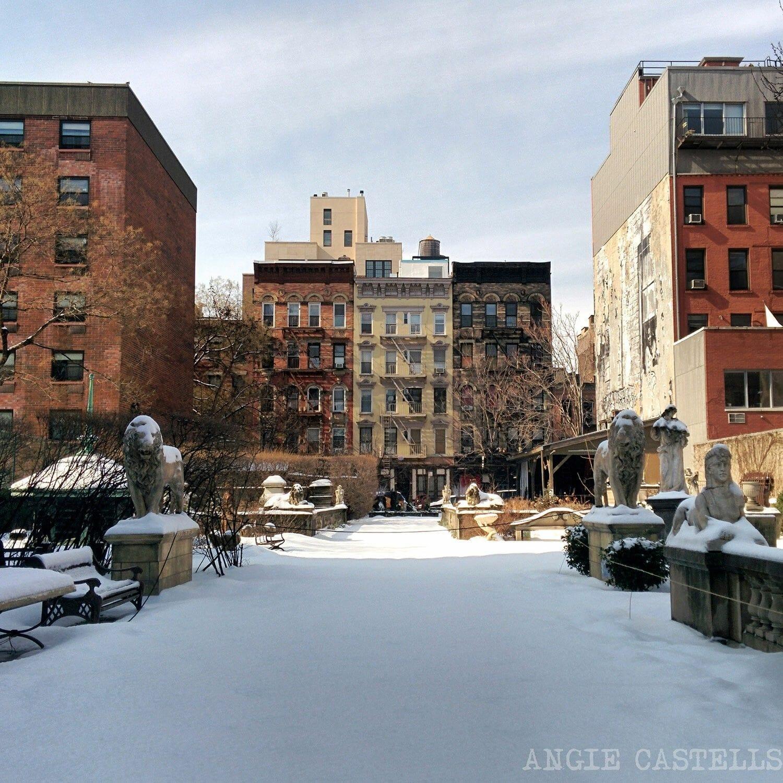 Jardín de Elizabeth St Nueva York