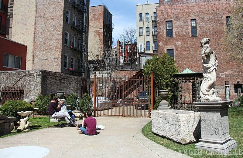 Elizabeth St Garden Nueva York