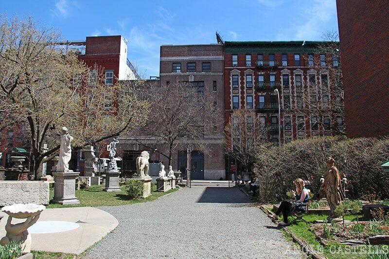 Jardín de Elizabeth Street Nueva York