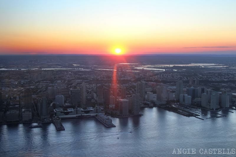 Subir al One World, el observatorio del World Trade Center