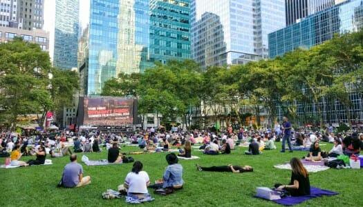 Cine al aire libre en Nueva York (verano de 2020)