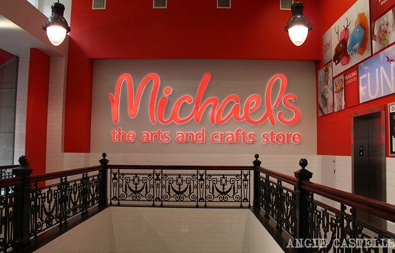 Michaels New York DIY y craft