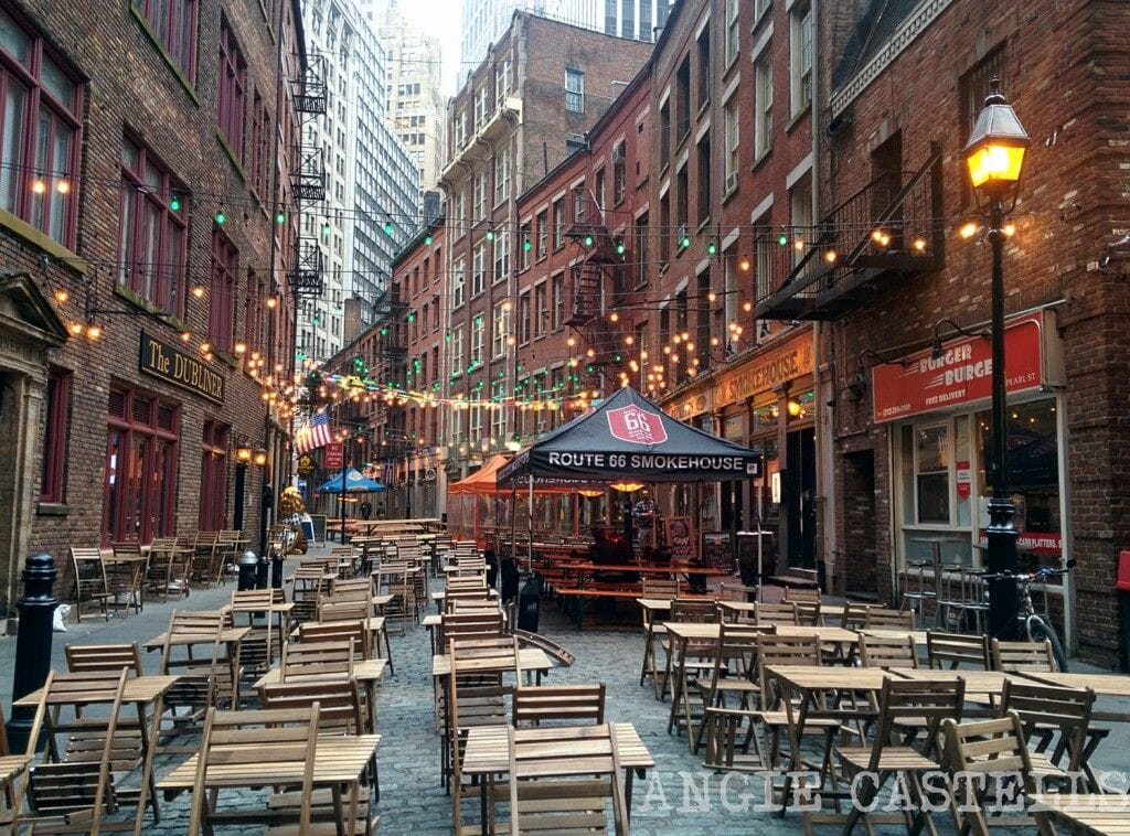 Stone Street la calle escondida de Wall Street