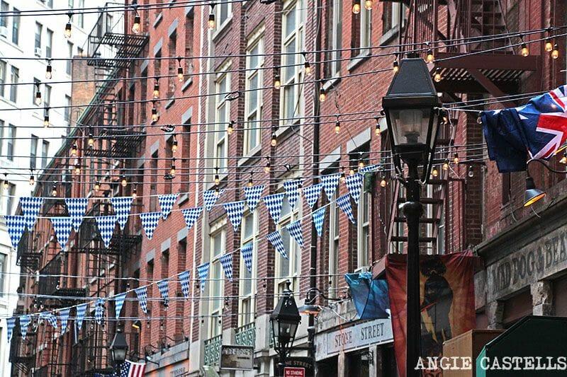 Stone St Nueva York Wall St