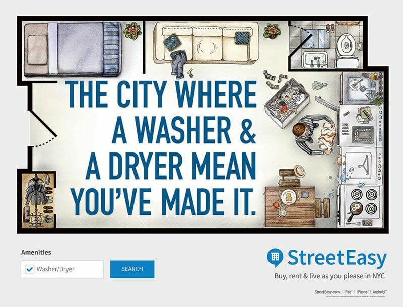 La lavadora en Nueva York