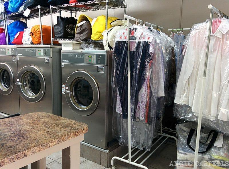 Laundromat en Nueva York