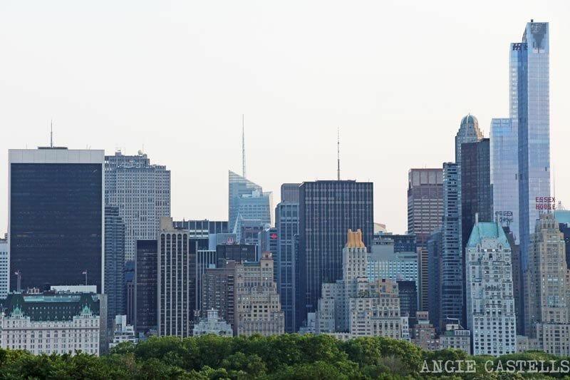 Midtown Manhattan desde la terraza del museo Met