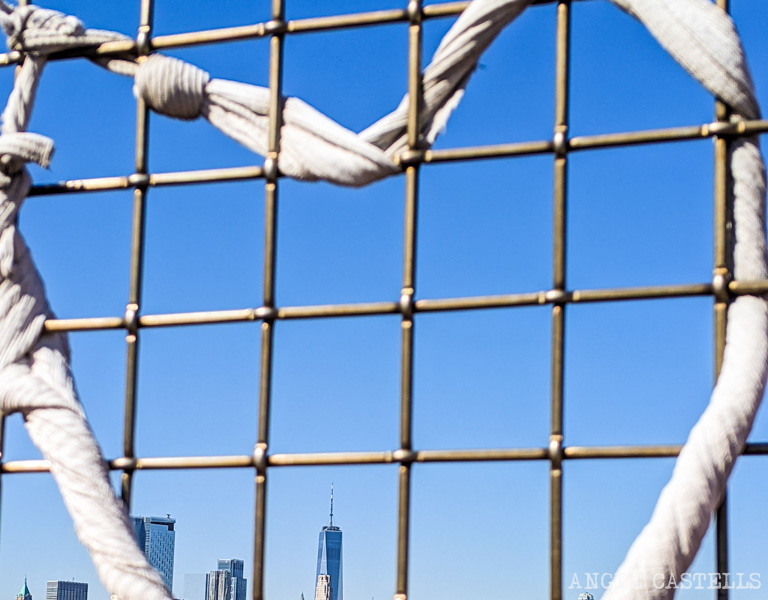 Cruzar el Williamsburg Bridge a pie - Vistas del One World