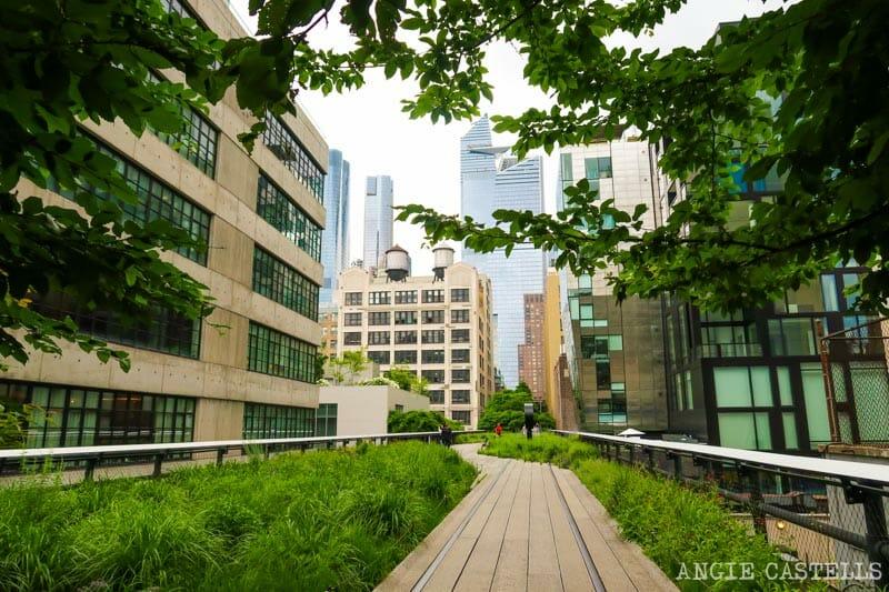 Qué ver en la High Line - Edificios y tramos